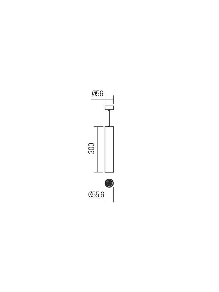 Smarter 01-2154 AXIS lámpa Függeszték