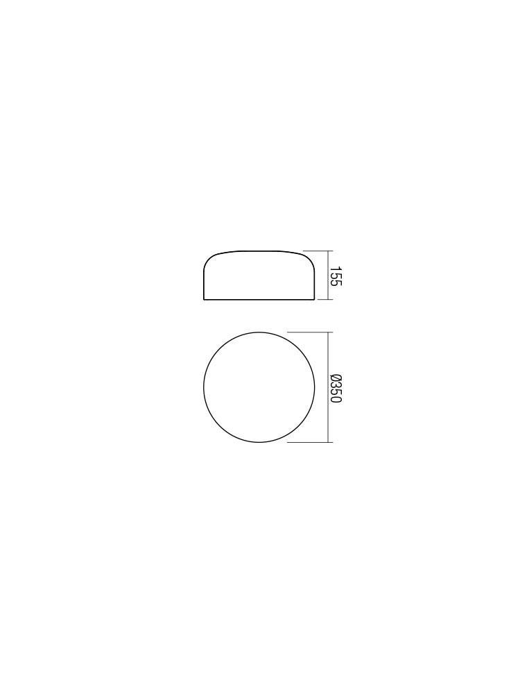 Smarter 01-1582 EQUIPO Mennyezeti lámpa