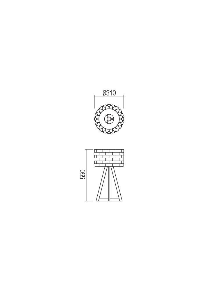 Smarter 01-1842 INGE Asztali lámpa
