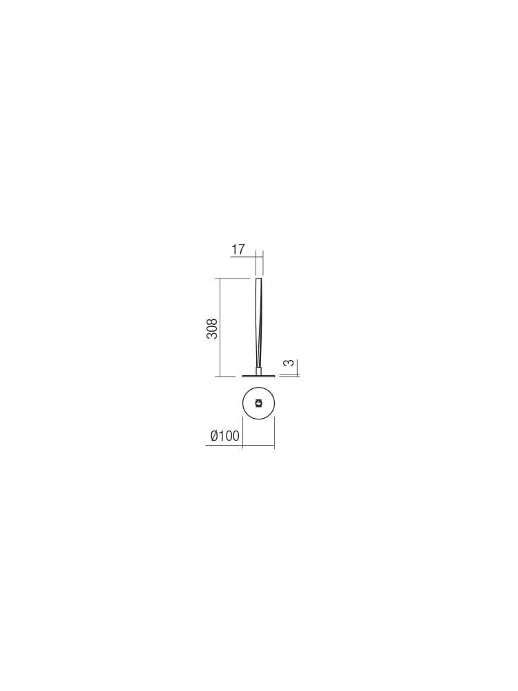 Smarter 01-2347 IRUDO LED Asztali lámpa