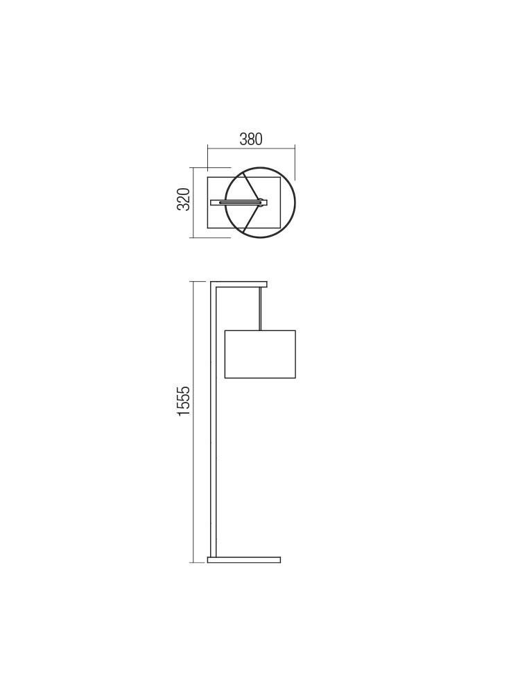 Smarter 01-1814 RADAL Állólámpa