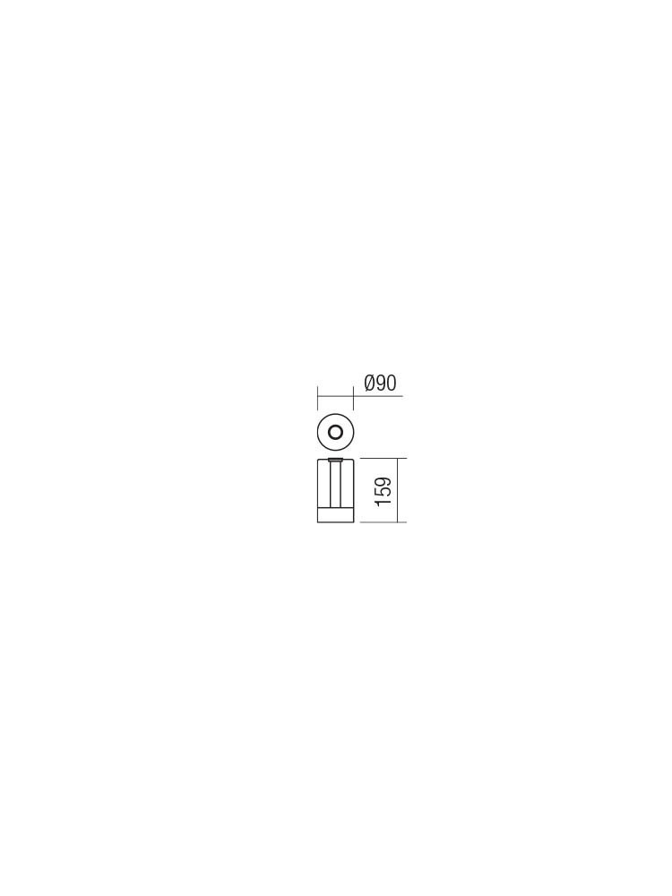 Smarter 01-1749 TABBY LED Asztali lámpa