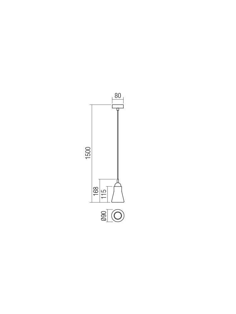 Smarter 01-1519 TRACY lámpa Függeszték