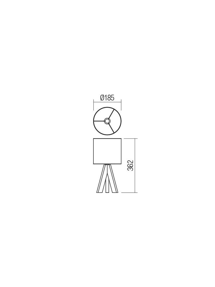 Smarter 01-2123 ZIGUA Asztali lámpa