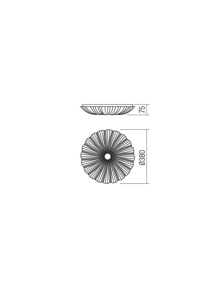 Smarter 05-914 ARAGON LED Mennyezeti lámpa