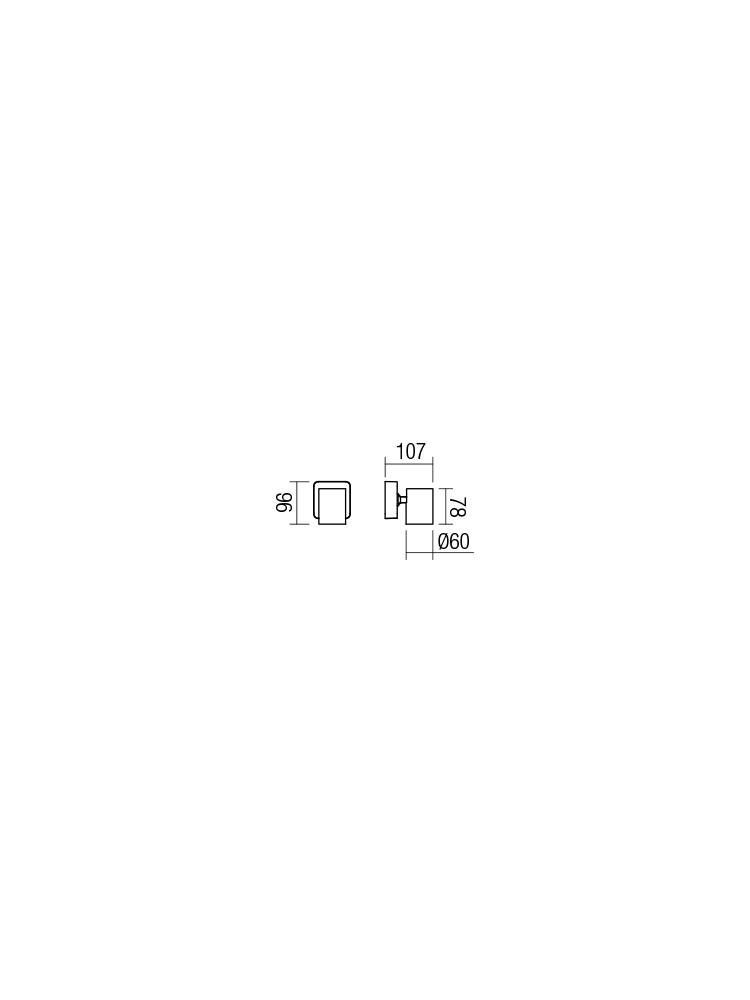Smarter 04-467 CAMEO Fali lámpa