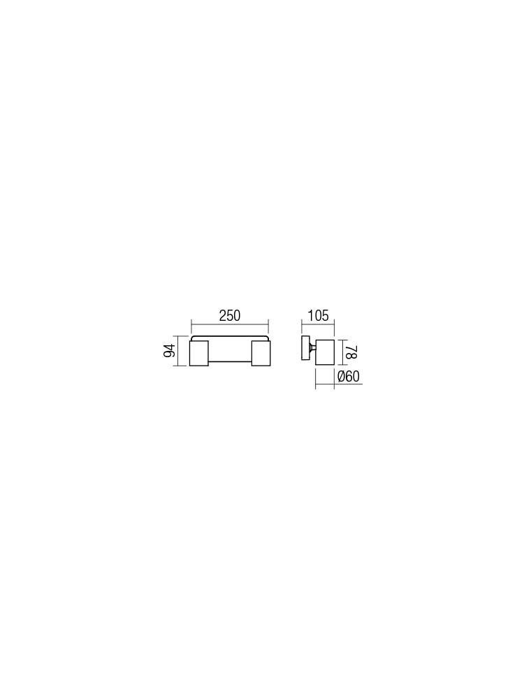 Smarter 04-469 CAMEO Fali lámpa