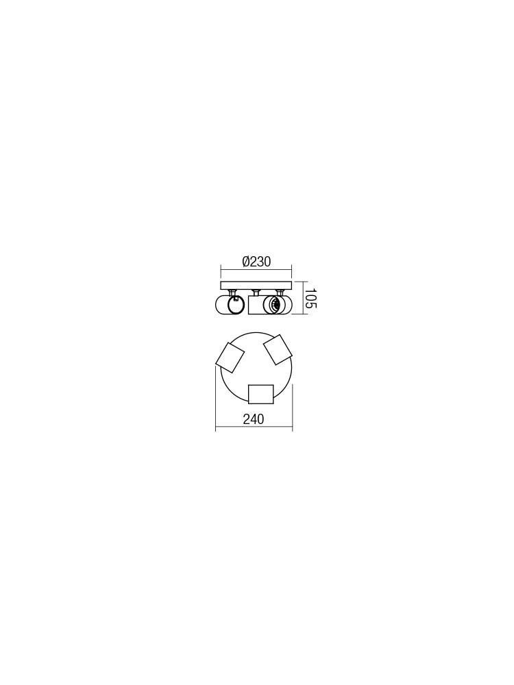 Smarter 04-472 CAMEO Mennyezeti lámpa