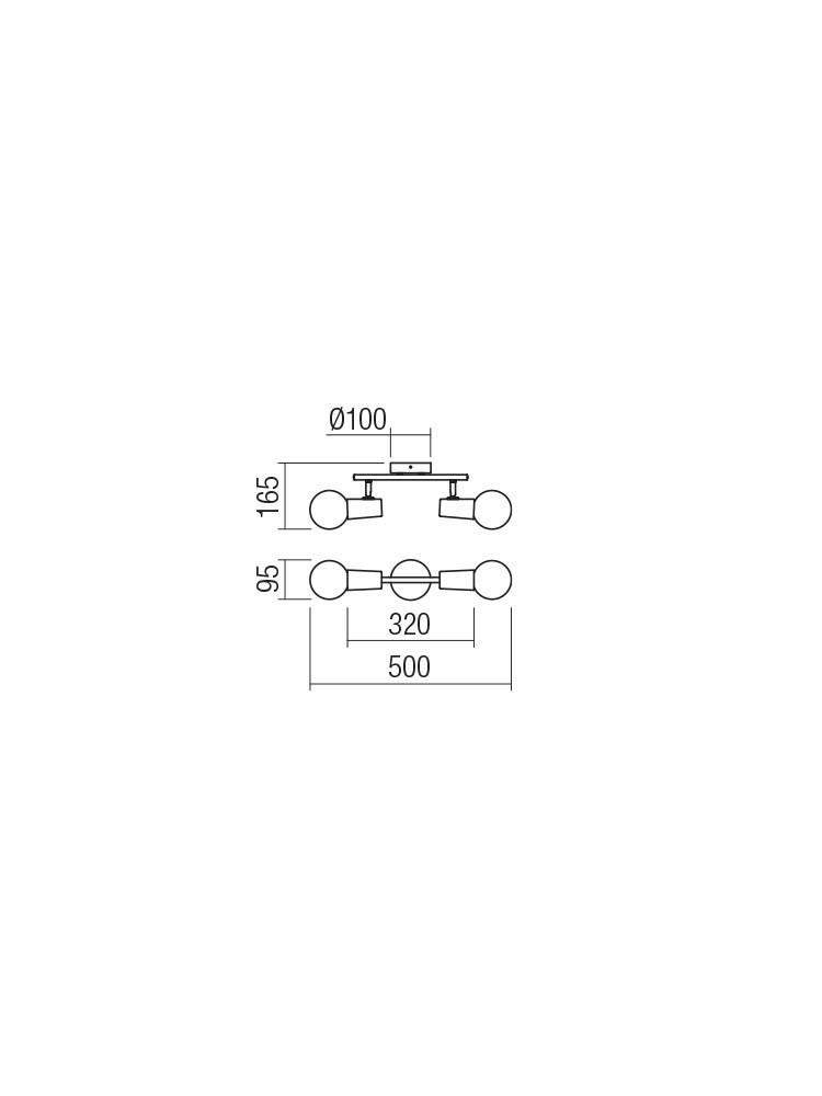 Smarter 04-500 DEKRA Fali / mennyezeti lámpa
