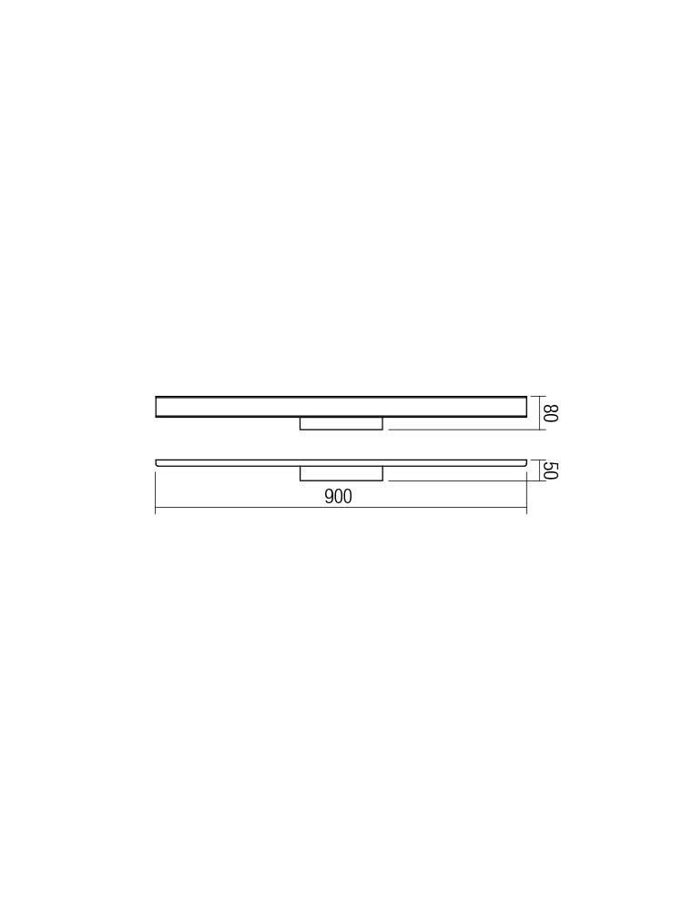 Smarter 01-1527 DAO LED Fali lámpa