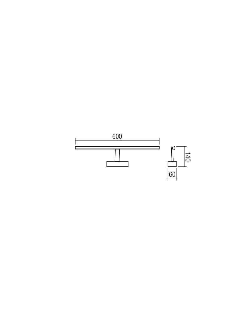 Smarter 01-1673 NEPTUNE LED Fürdőszobai tükör fali lámpa