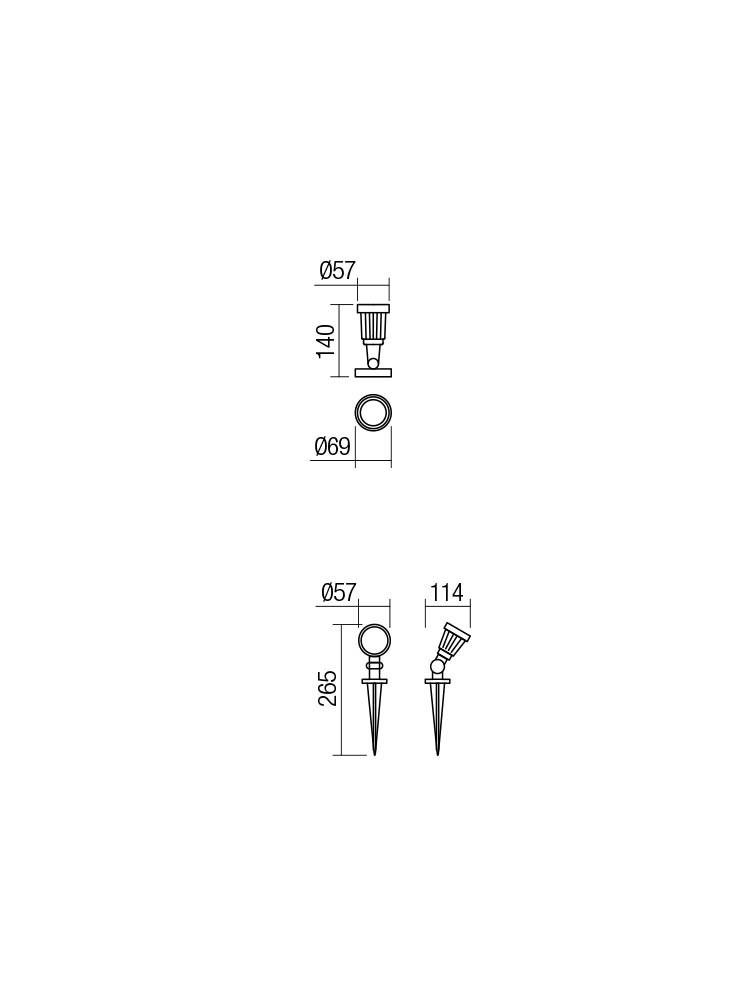 Smarter 9997 TIM LED Kültéri lámpa