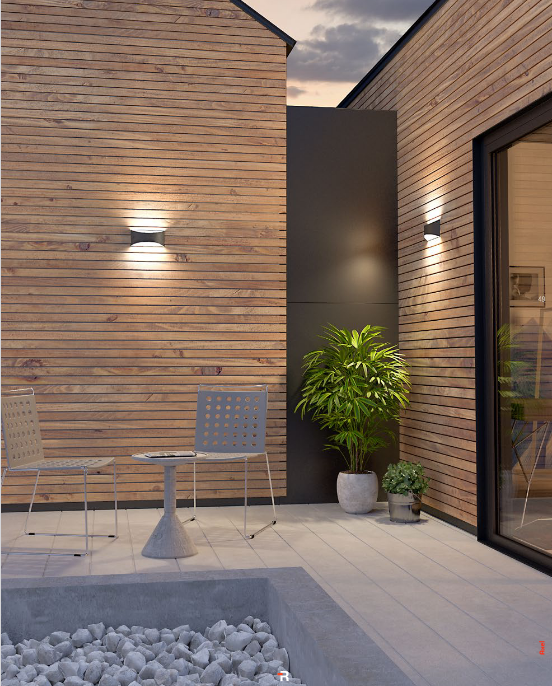 Redo AXEL 90126 LED Kültéri fali lámpa