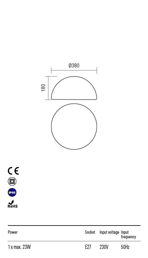 Redo BLOB 90167 Kültéri dekorációs lámpa