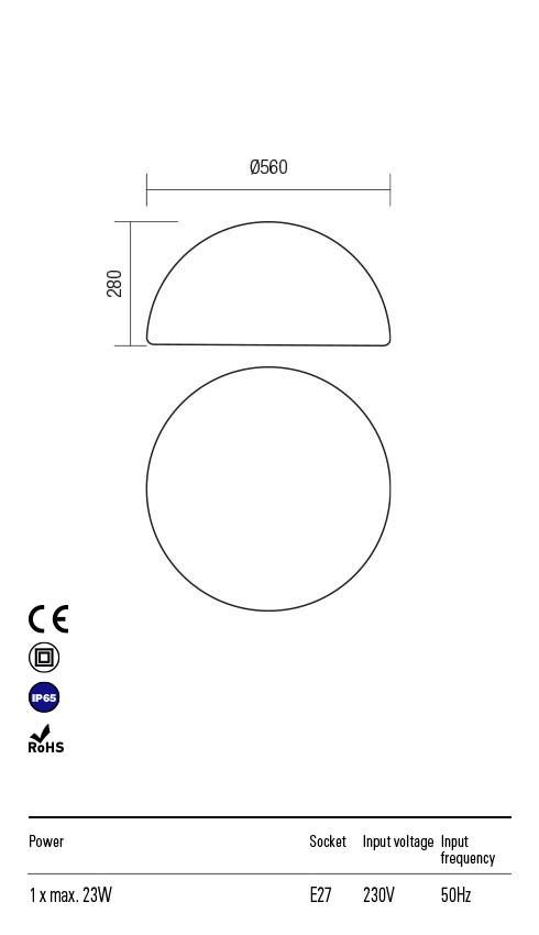 Redo BLOB 90169 Kültéri dekorációs lámpa