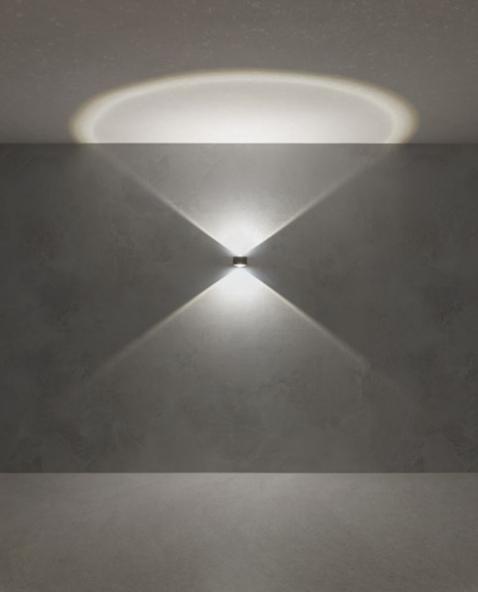 Redo LOG 90063 LED Kültéri fali lámpa