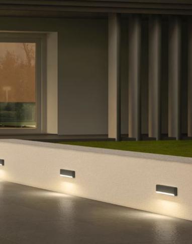 Redo SAPO 90072 LED Kültéri fali lámpa