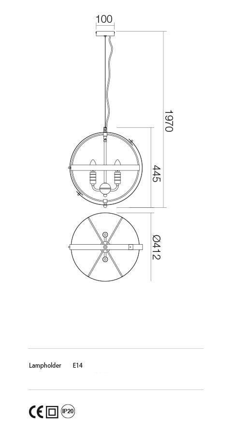 Incanti ISD P4 06 12 SIDERIA Csillár