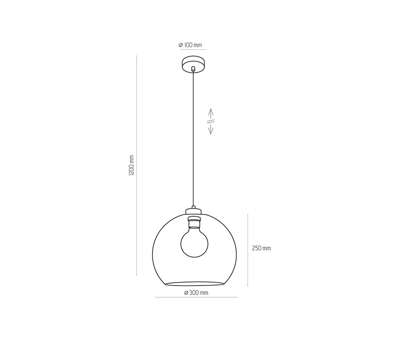 TK Lighting TK-2765 Cubus függeszték