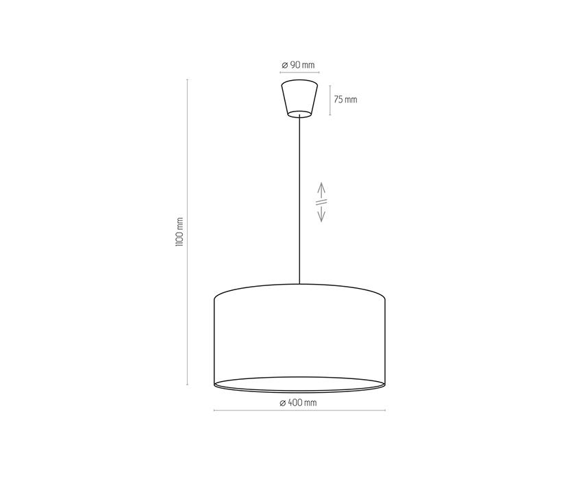 TK Lighting TK-3231 Rondo függesztett lámpa