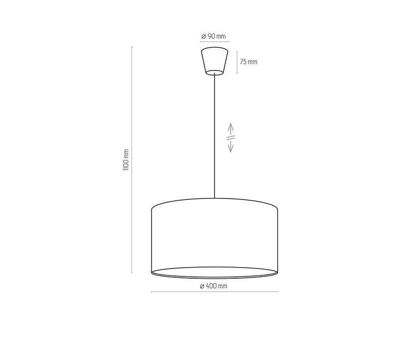 TK Lighting TK-3232 Rondo függesztett lámpa