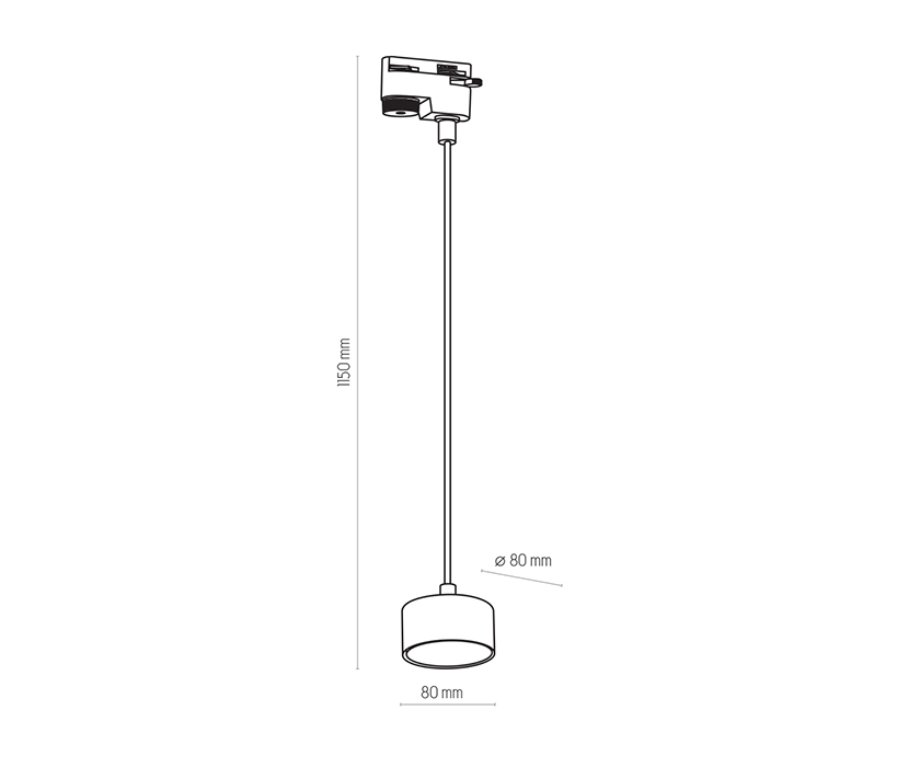 TK Lighting TK-4481 Tracer sínrendszeres lámpa