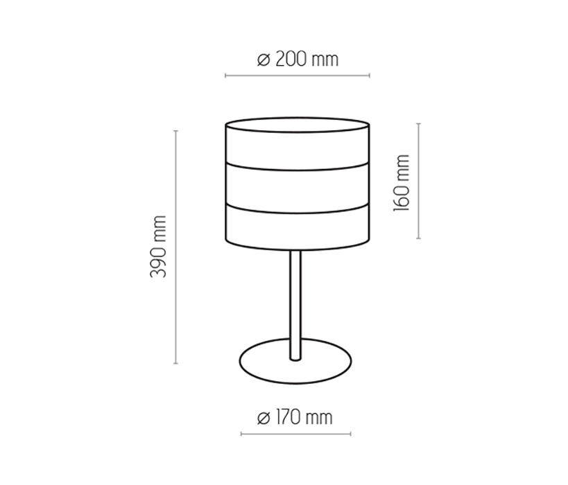 TK Lighting TK-5054 Tago asztali lámpa
