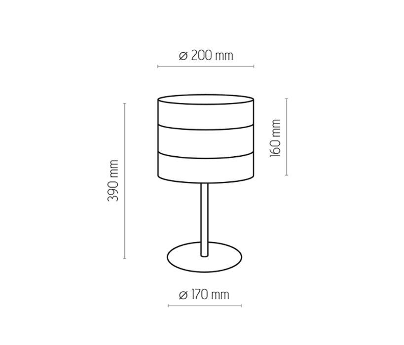 TK Lighting TK-5056 Tago asztali lámpa