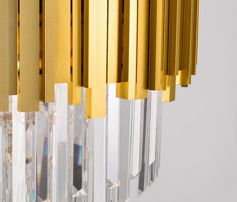 Nova Luce NL-9050110 Grane függesztett kristály lámpa
