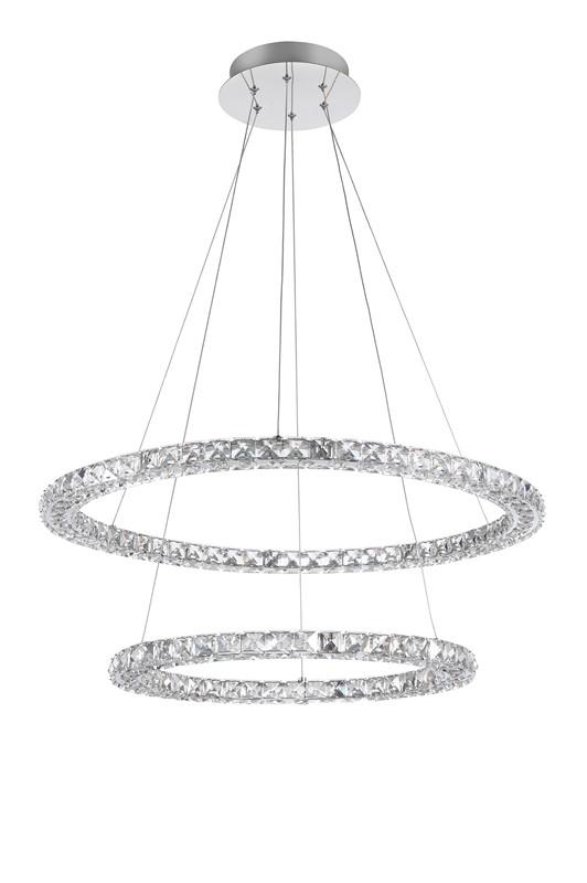 Nova Luce NL-9172518 Quentin LED kristály függeszték