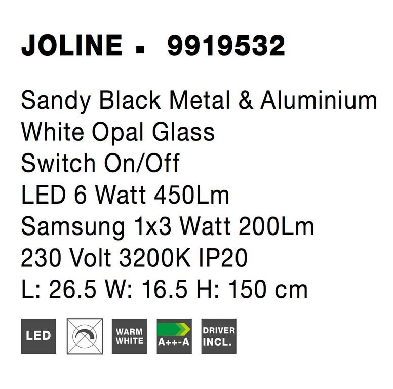 Nova Luce NL-9919532 Joline LED állólámpa