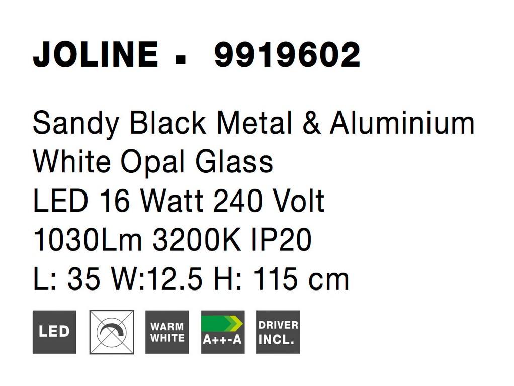 Nova Luce NL-9919602 Joline LED függesztett lámpa