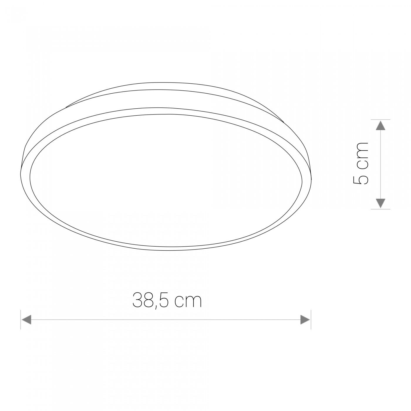 Nowodvorski TL-8186 Agnes Round LED víz-védett mennyezeti lámpa