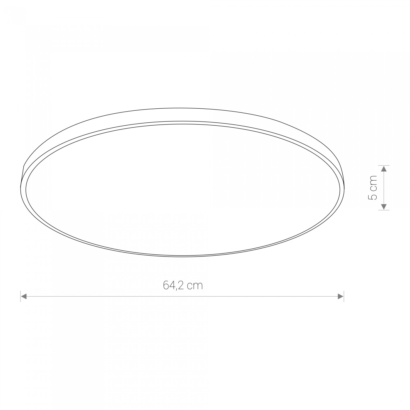 Nowodvorski TL-8188 Agnes Round LED víz-védett mennyezeti lámpa