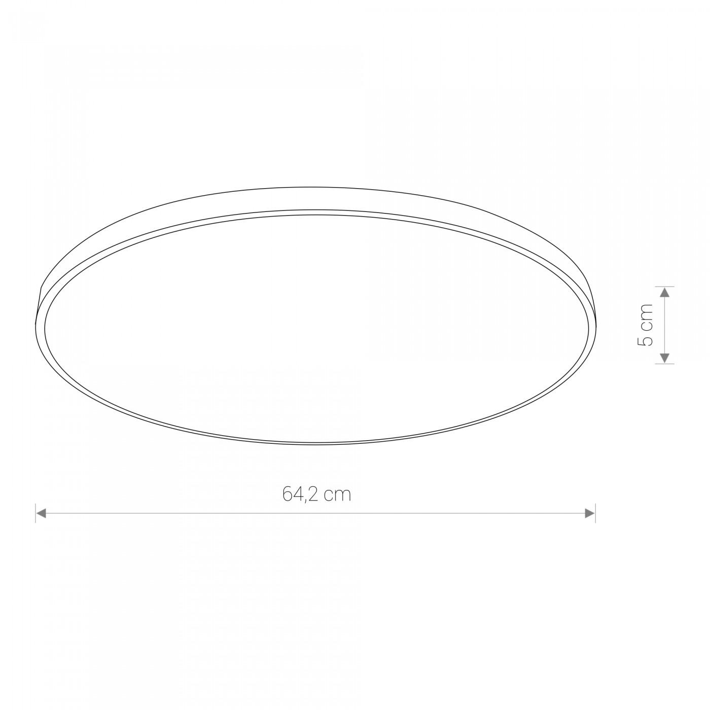 Nowodvorski TL-8206 Agnes Round LED víz-védett mennyezeti lámpa