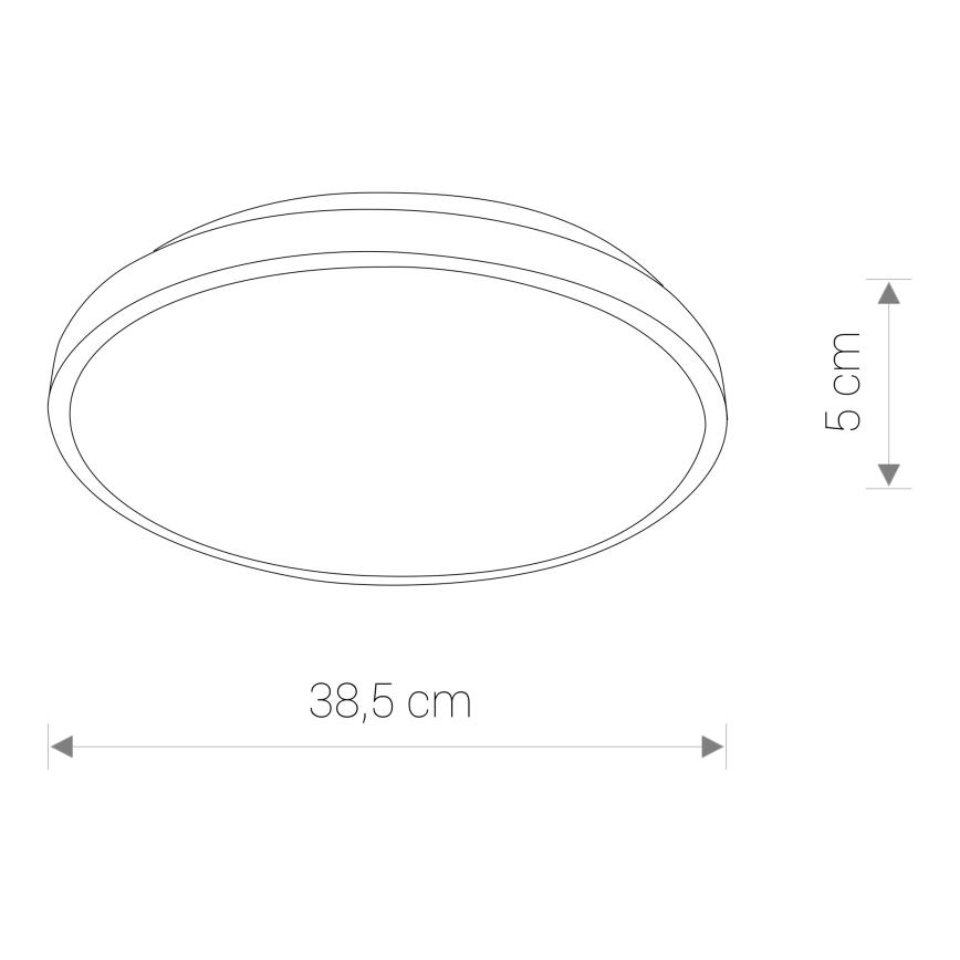 Nowodvorski TL-8207 Agnes Round LED víz-védett mennyezeti lámpa