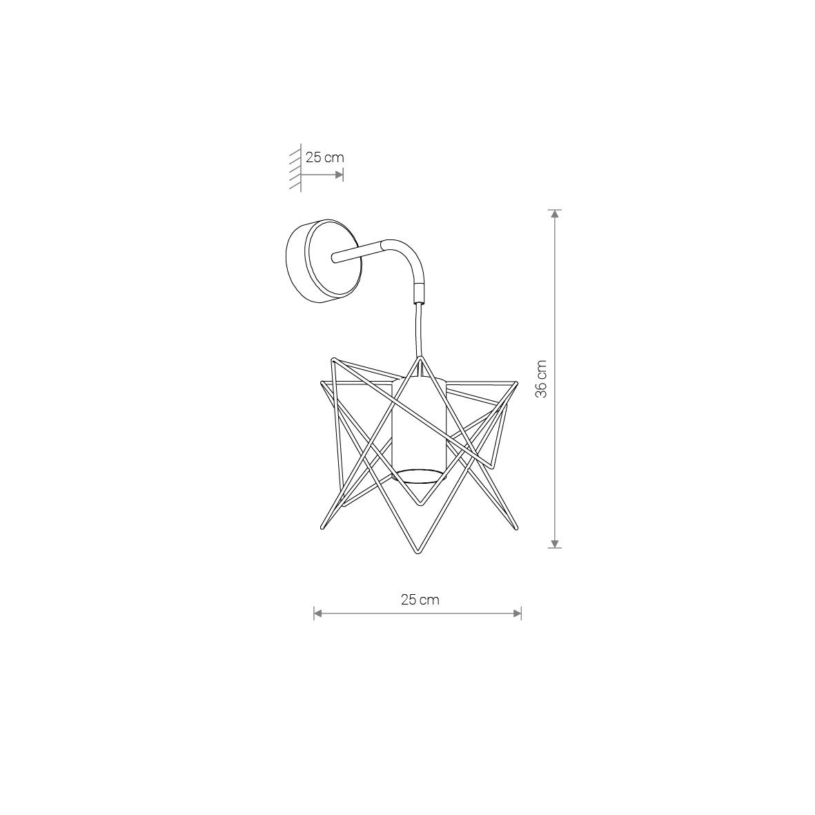 Nowodvorski TL-8285 Gstar falikar