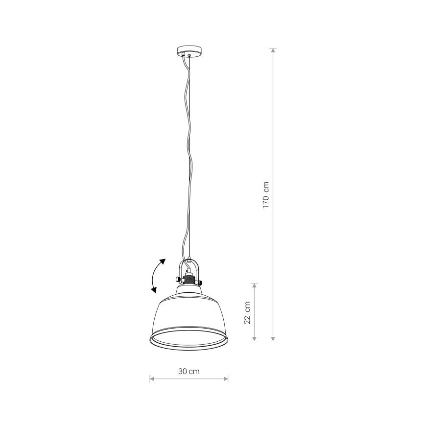 Nowodvorski TL-8380 Amalfi függesztett lámpa