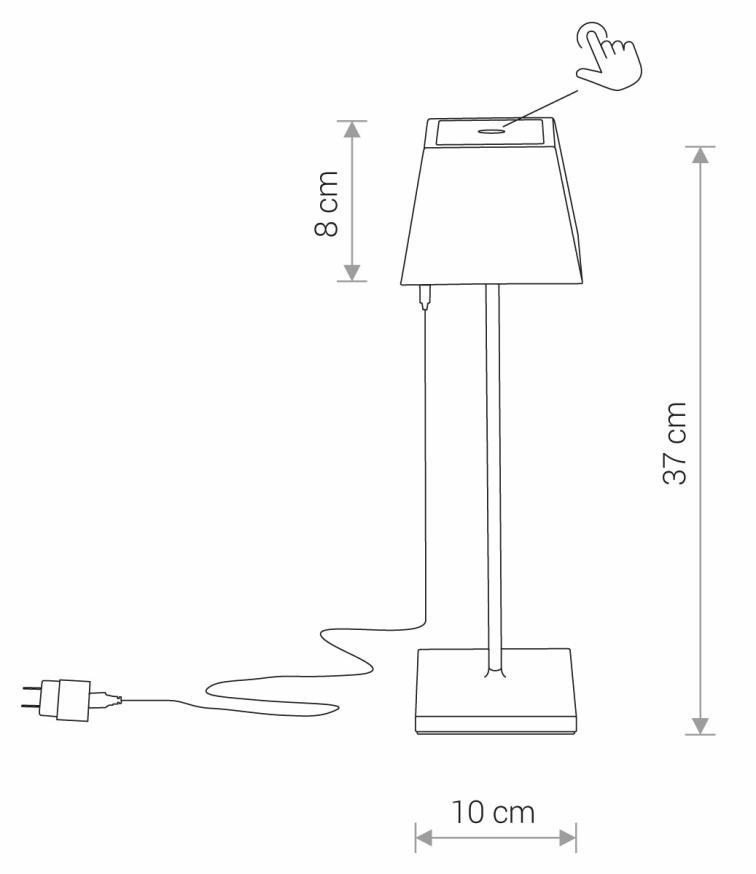 Nowodvorski TL-8398 Mahe LED kültéri hangulatvilágítás