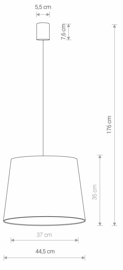 Nowodvorski TL-8443 Cone függesztett lámpa