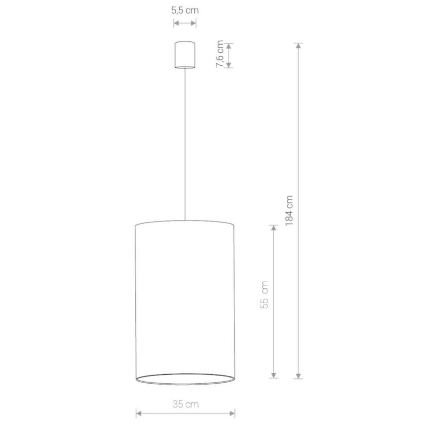 Nowodvorski TL-8444 Barrel függesztett lámpa