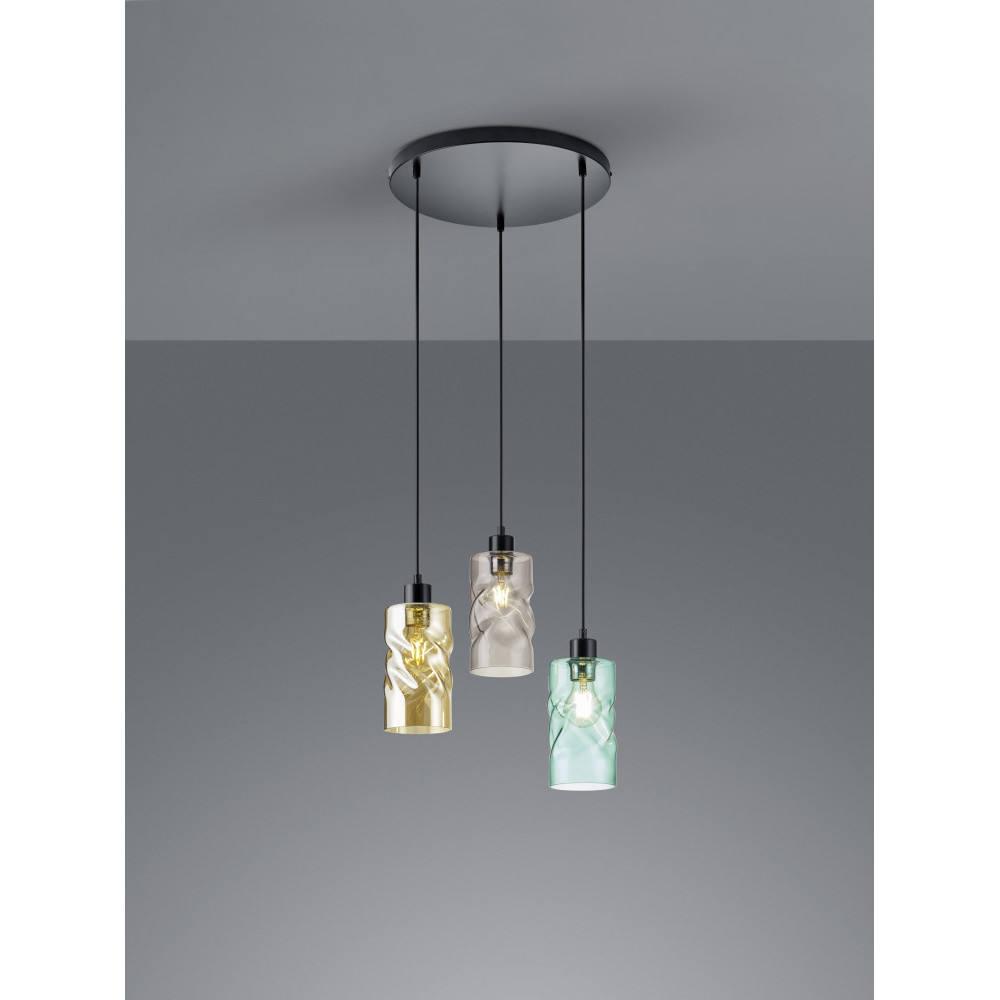 Trio R30533917 Reality Swirl lámpa függeszték