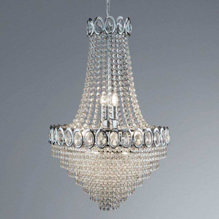 Searchlight Crystal 1711-11CC kristály lámpa függeszték