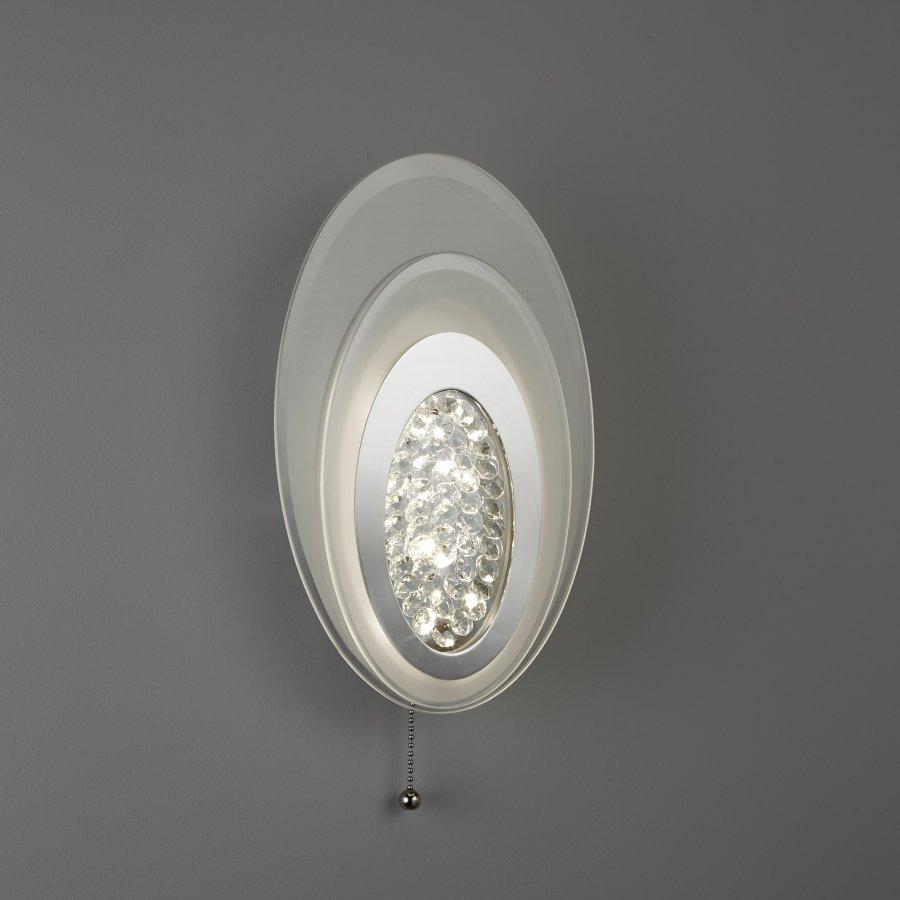 Searchlight Led Wall Light 6482CC LED kristály fali lámpa