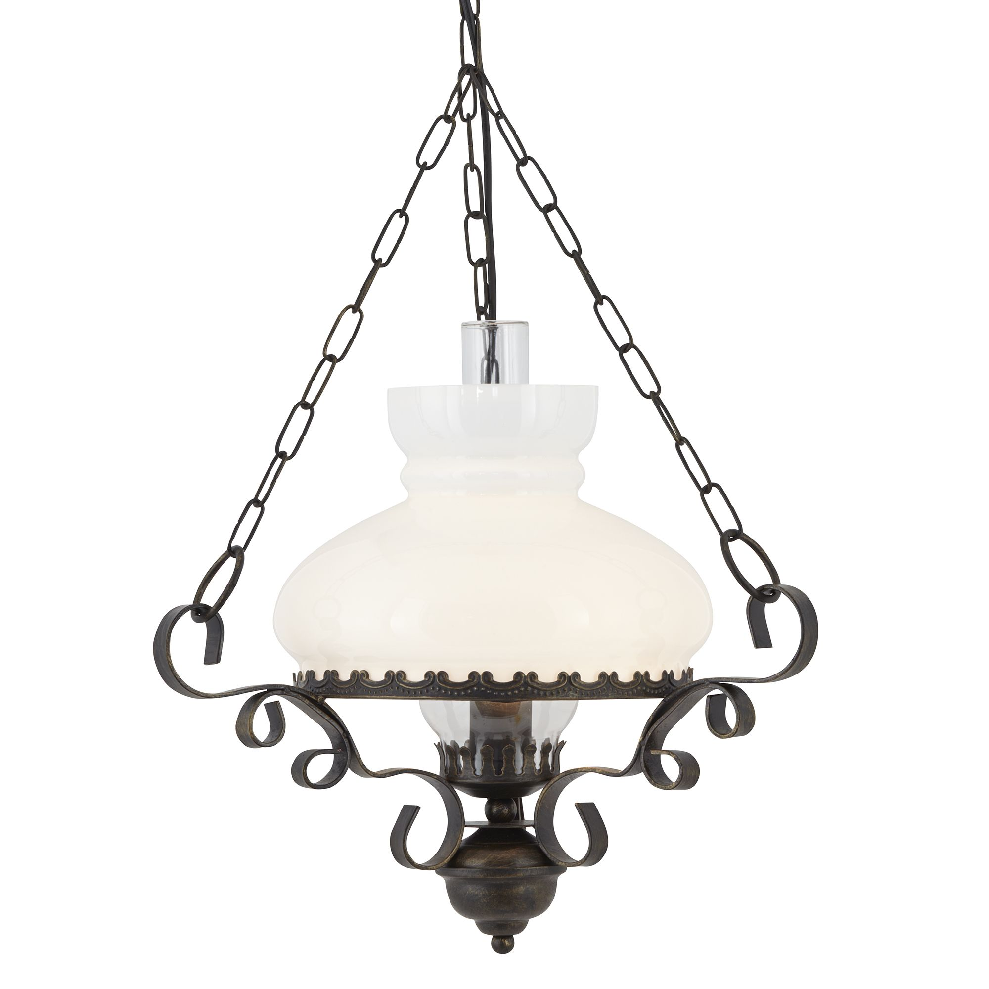 Searchlight Oil Lantern 576RU rusztikus lámpa függeszték