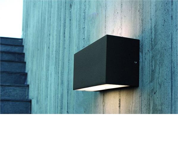 Norlys NO-1510B Asker kültéri fali lámpa / beépített LED /