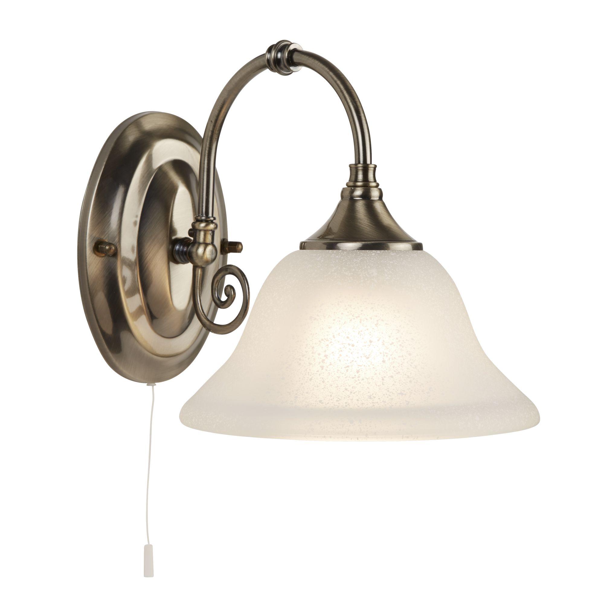 Searchlight Virginia  9351-1 antik falikar lámpa