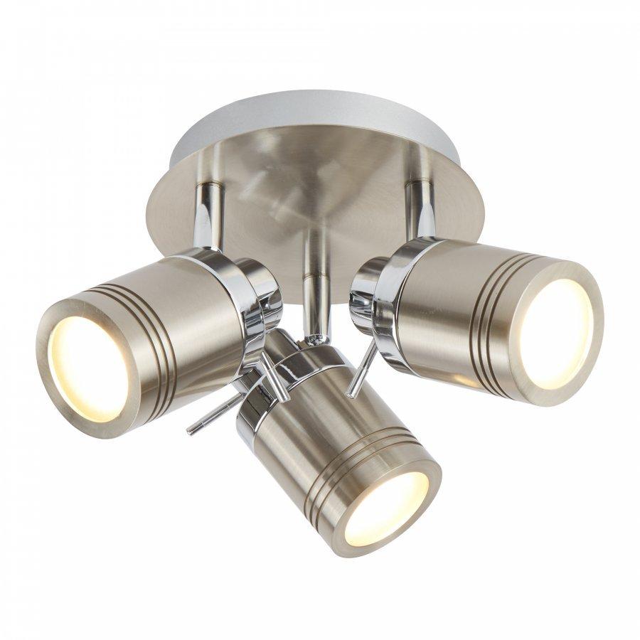 Searchlight Samson 6603SS fürdőszobai mennyezeti spot lámpa