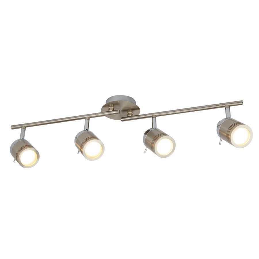 Searchlight Samson 6604SS fürdőszobai mennyezeti spot lámpa