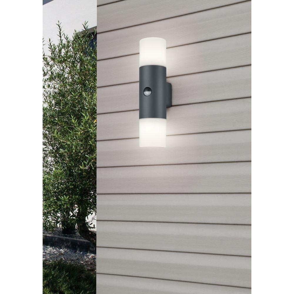 Trio 222260242 Hoosic kültéri mozgásérzékelős fali lámpa